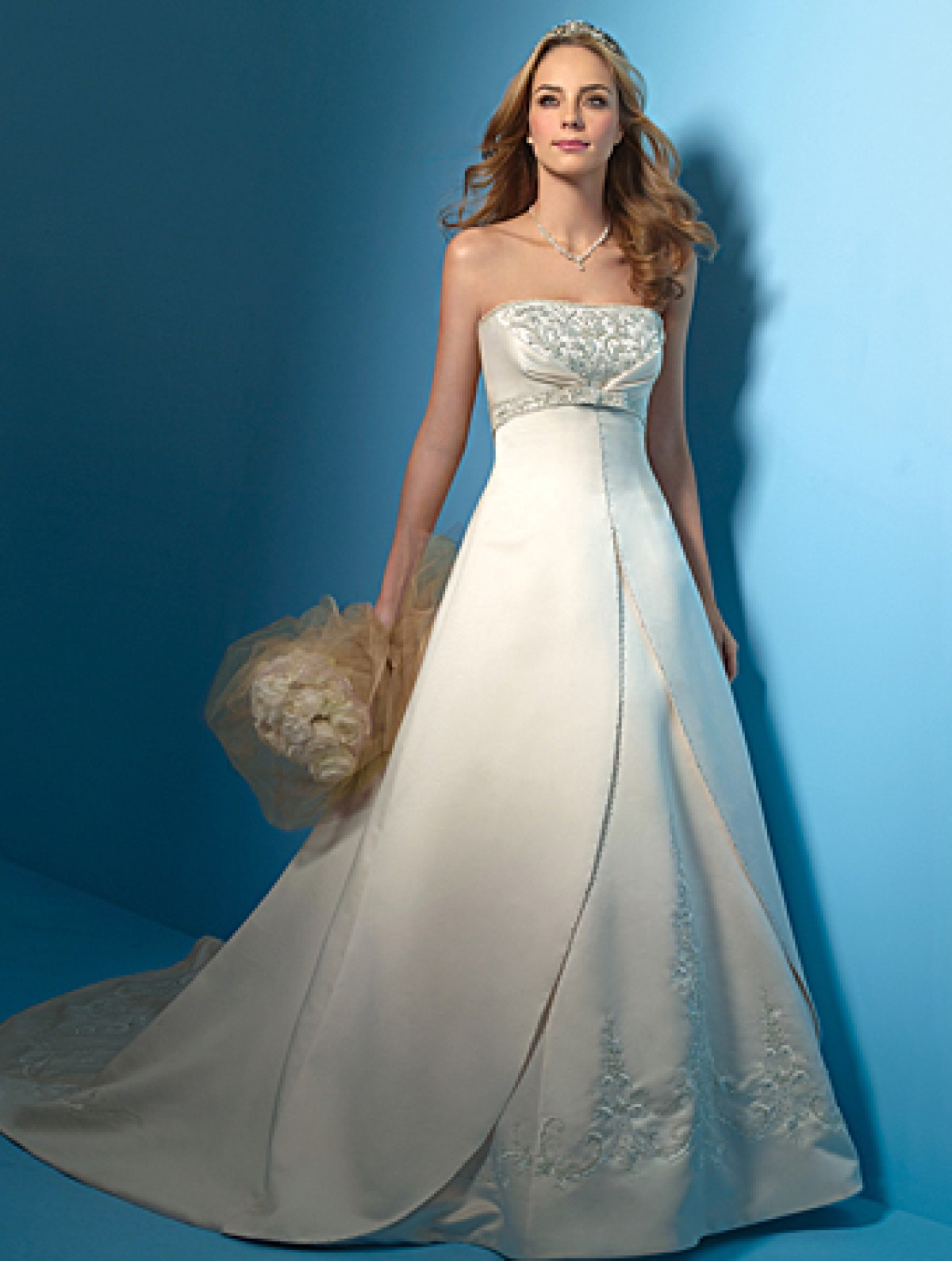 Alfred angelo bargain bridal gown for What kind of wedding dress